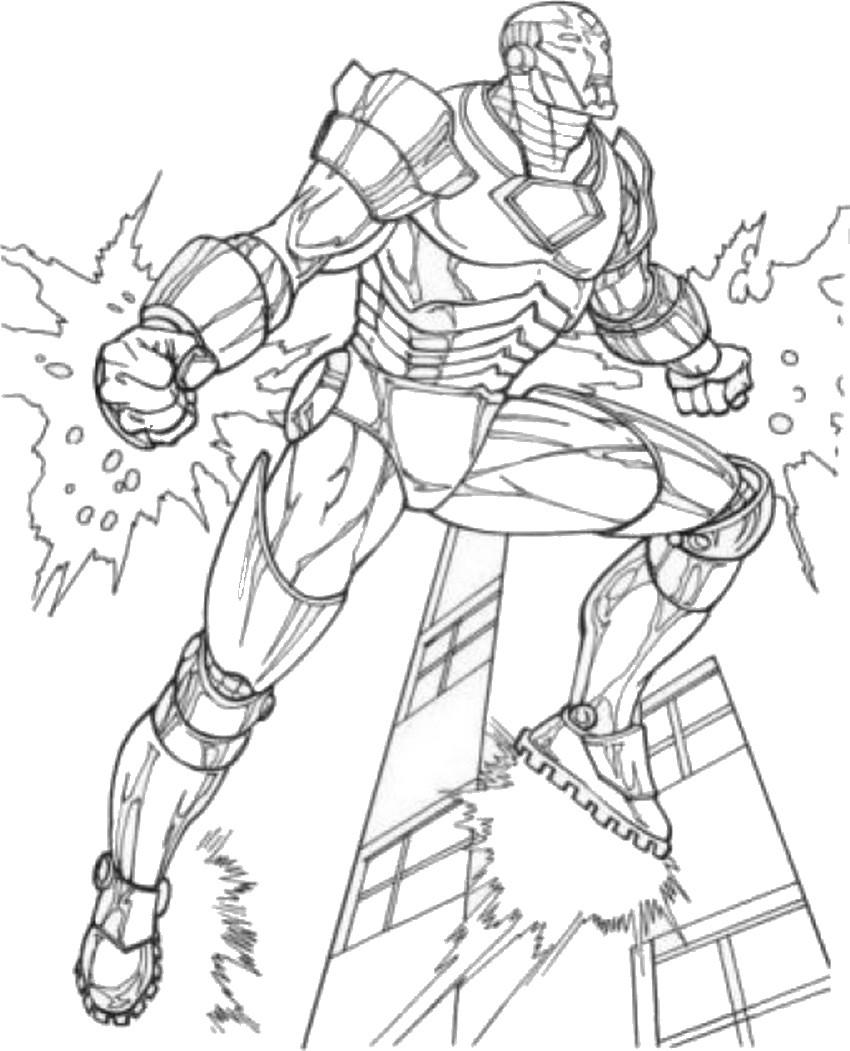 avengers 79 superhéroes  páginas para colorear