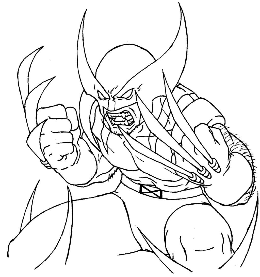 Wolverine #18 (Superhéroes) - Páginas para colorear
