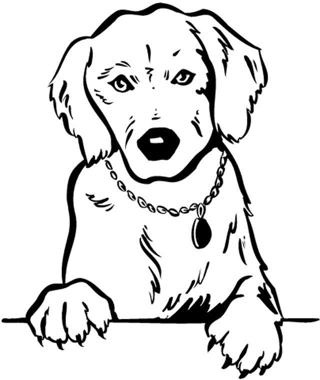 Perro #18 (Animales) – Páginas para colorear