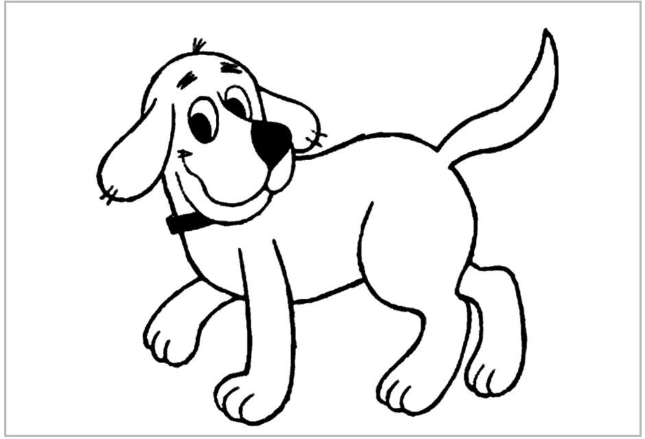 Perro #22 (Animales) – Páginas para colorear