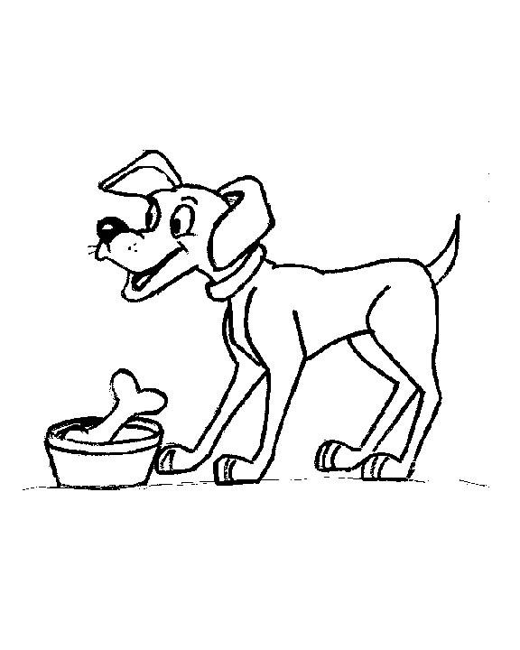Perro #67 (Animales) – Páginas para colorear